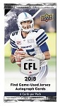 2018 Upper Deck CFL Trading Cards (6-card package)